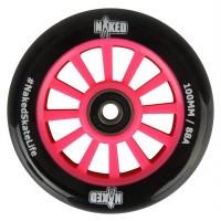Naked Nylon kjerne hjul 100mm