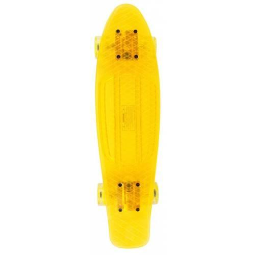 Annox LED Cruiser Skateboard - Yellow