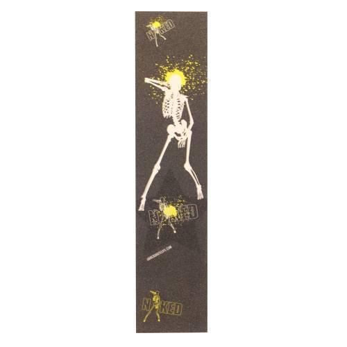 Naked Sparkesykkel Griptape - Dancing Skeleton